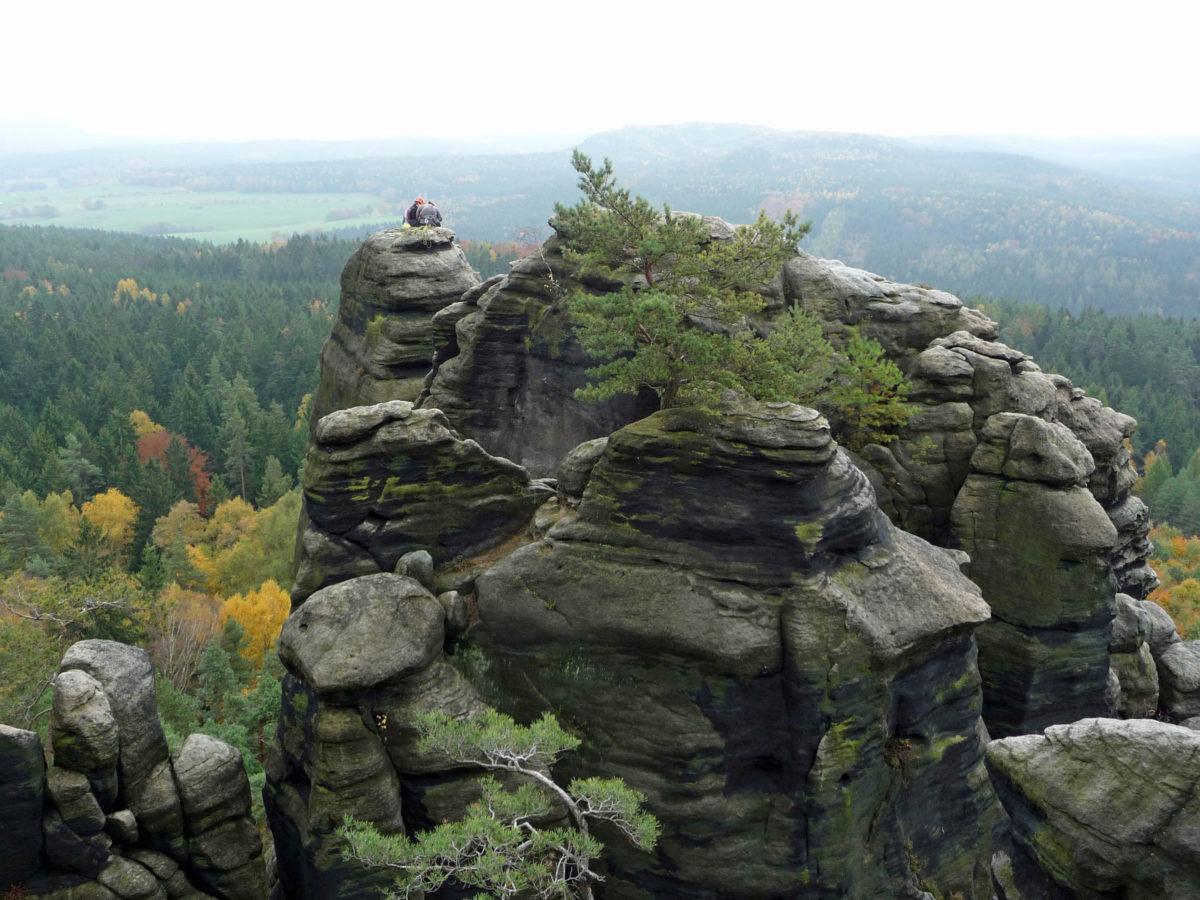 Bergsportidyll am Pfaffenstein