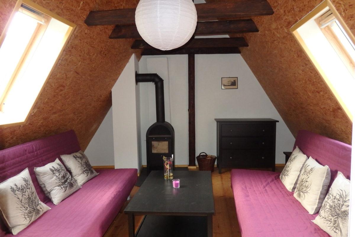 große Wohnung Wohnzimmer