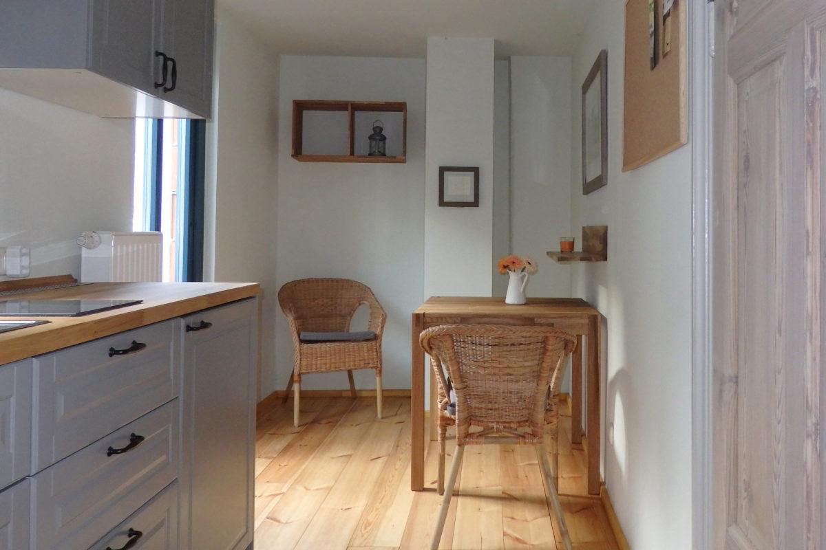 kleine Wohnung Küche