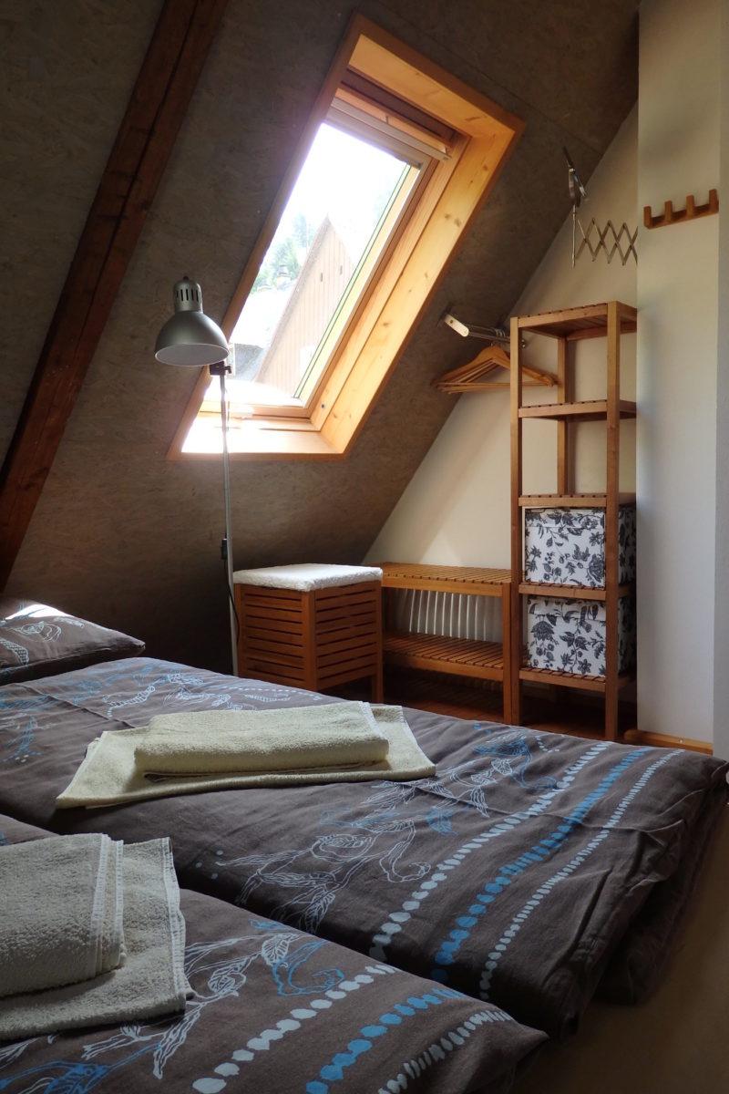 Schlafzimmer Dach