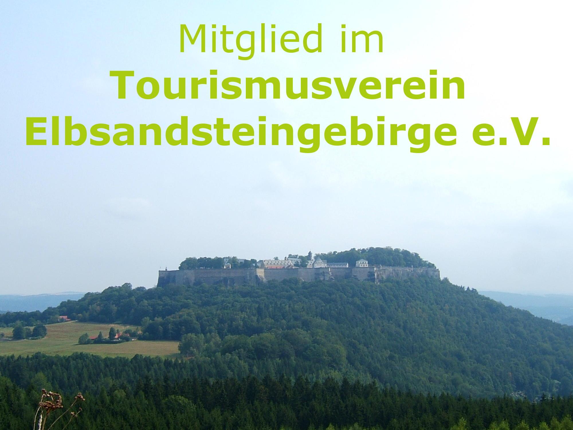 Mitglied im Tourismusverein Elbsandsteingebirge e.V.